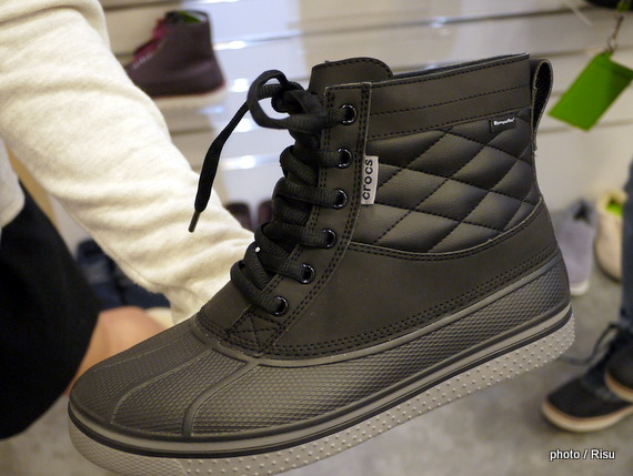 allcast waterproof duck boot men クロックスメンズブーツ