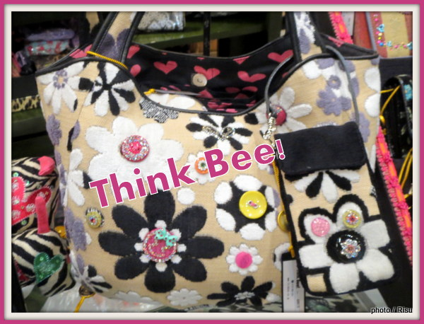 Web限定!Think Bee!新作バッグ&小物はやっぱり大人可愛い♪