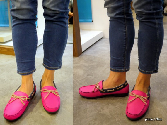 wrap ColorLite lined loafer w
